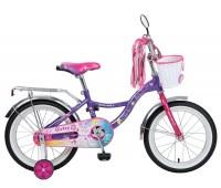 "Велосипед NOVATRACK 16"" LITTLE GIRLZZ"