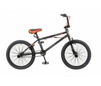 """Велосипед 20"""" стингер BMX ACE, черный мат, с гироротором"""