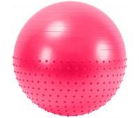 Мяч гимнастический Anti-Burst полу-массажный 75см