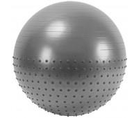 Мяч гимнастический Anti-Burst полу-массажный 55см