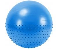 Мяч гимнастический Anti-Burst полу-массажный 65см