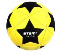 Мяч футбольный Atemi ORION PVC жёл/чёрн/бел., р.5 , 420 г.,