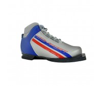 Ботинки лыжные Marax M-350/NN75 серебр-синие