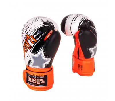 Перчатки бокс BBG-07 Оранжевые