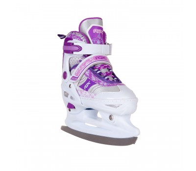 Коньки ледовые/Раздвижные Fresco Violet