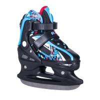 Коньки ледовые/раздвижные POINTER blue