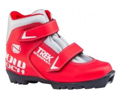 Ботинки лыжные детские NNN TREK Snowrock3 красный