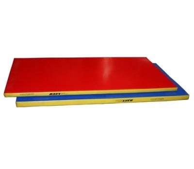 гп50-10 Мат гимнастический 1*2*0,08м трехцветный