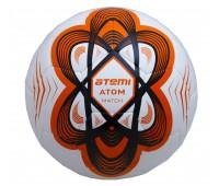 Мяч футбольный Atemi ATOM Hybrid, оранж, р.5