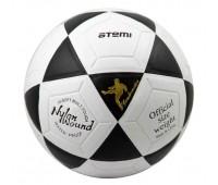 Мяч футбольный ATEMI GOAL PVC бел/чёрн., р.5, ламинированный