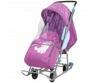 Санки-коляска Ника Детям Disney Baby
