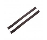 Ремешки для поднятия тяжестей NWS-259 хлопок черный