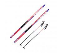 Комплект лыжный NNN/Степ (с палками)