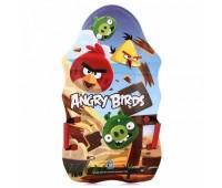 """Ледянки 1TOY c плотн. ручками выпуклая 94см """"Angry Birds"""""""