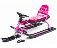 Снегокат 106 Comfort (Vanessa) (розовый)