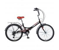 """Велосипед NOVATRACK 24"""" складной, TG 6ск"""