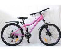 "Велосипед 24"" MAKS IRIS MD (ALU рама) 21-ск"