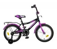 """Велосипед NOVATRACK 12"""", COSMIC, черный тормоз нож., крылья, багажник хром."""