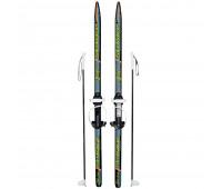 Лыжи детские Ski Race 140см/105см с палками крепление цикл
