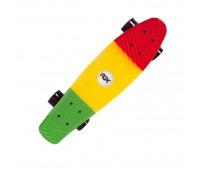 Мини-круизер PNB-05 Green/Yellow/Red (22