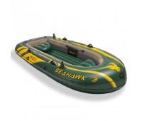 Лодка надувная Seahawk 3 set intex 68380