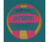 Мяч в/б ATEMI OCEAN, синт. кожа PU, син-красн-бел