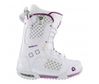Ботинки сноубордические Atom A-Angel white