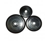 Диск д-26мм 2,50 кг обрез/черн