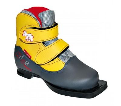 Ботинки лыжные Marax Kids на липучке 75