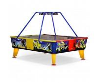 Игровой стол - аэрохоккей 4 Monsters 238 cm x 183 cm, ( жетоноприемник)
