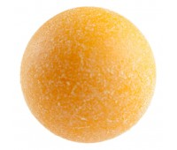 Мяч для футбола, шероховатый пластик, D 36 мм (желтый)
