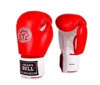 Перчатки бокс PBG-300L Red 12 унц. кожа