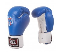 Перчатки бокс PBG-300L Blue кожа