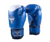 Перчатки бокс RBG-102 Duex Blue