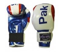 Перчатки бокс PR-11-007 синие