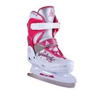 Коньки раздвижные/ледовые PW-190 Pink