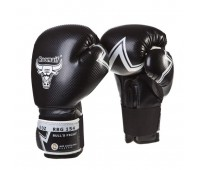 Перчатки бокс RBG-154 PU 3G Black(8 унц.)