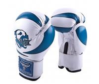Перчатки бокс детские RBG-172 PU 3G Blue