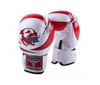 Перчатки бокс детские RBG-172PU 3G Red 2унц