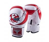 Перчатки бокс детские RBG-172PU 3G Red 4унц