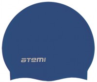 Шапочка д/плавания ATEMI, силикон, синяя/SC302
