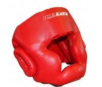 т005001 Шлем боксерский красный разм.S