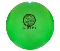 Мяч для худ. гимнастики (20см/400гр.) салатовый с блестками Т07574