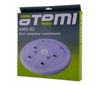 Диск здоровья массажный Atemi AMD02 с магнитами 25см