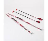 Комплект лыжный 195/NNN (Rottefella) - STEP XT TOUR RED