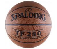 Мяч б/б проф. Spalding TF-250 ALL SURF р.6