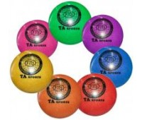 Мяч д/худож. гимнастики d15 300 гр (силикон с блестками)