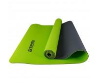 Коврик для йоги и фитнеса Atemi AYM0321 TPE 173х61х0,4см