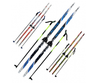 Комплект лыжный 180см/75 мм/степ/с палками