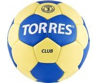 """Мяч ганд. """"TORRES Club"""" арт.H30013, р.3, ПУ, 5"""